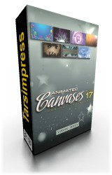 دیجیتال جویس,Animated Canvases Collection 17