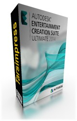 اتودسک 2014,Entertainment Creation Suite Ultimate 2014